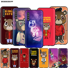 Webbedepp Kanye West Graduation Bear чехол для samsung Galaxy S7 S8 S9 S10 Edge Plus Note 10 8 9 A10 A20 A30 A40 A50 A60 A70(China)