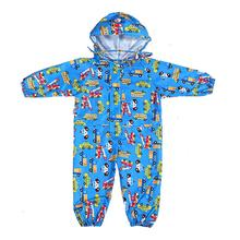 Raincoat Kids Jumpsuit Waterproof Poncho Children Girl Boy