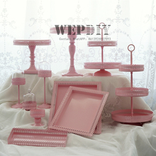 Cake-Stand Dessert-Table Home-Decoration Wedding Party Birthday-Cake-Tools Cupcake Candy-Bar