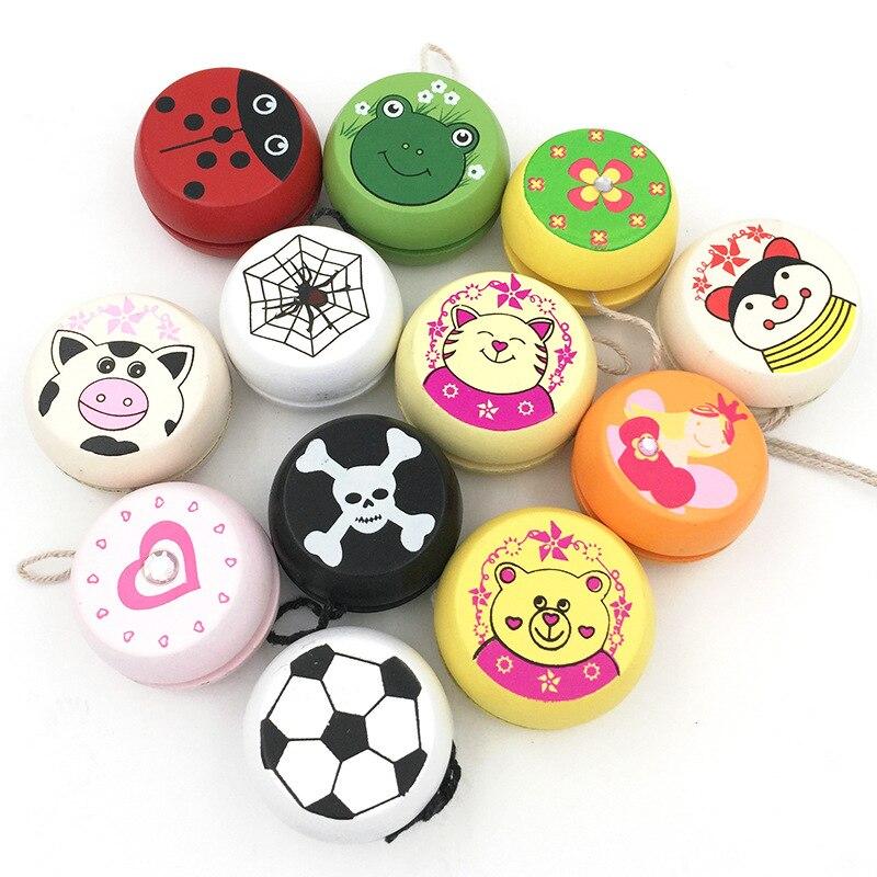 Cute-Animal-Prints-Wooden-Yoyo-Toys-Ladybug-Toys-Kids-Yo-Yo-Creative-Yo-Yo-Toys-For