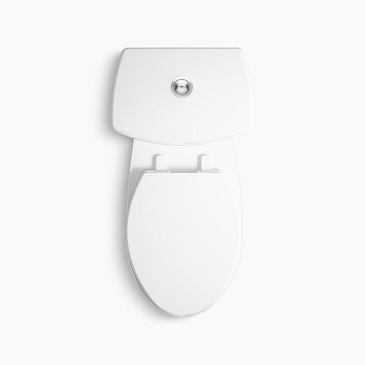 TOYANDONA 1 Pc 114Mm Filetage Double Bouton de Chasse Deau de Toilette R/éservoir Deau Bouton Poussoir Tige de Bouton de Toilette pour Salle de Bain