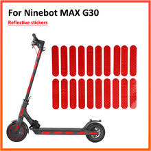 Body-Reflective-Sticker Stickers-Accessories Electric-Scooter Ninebot Max G30 M365