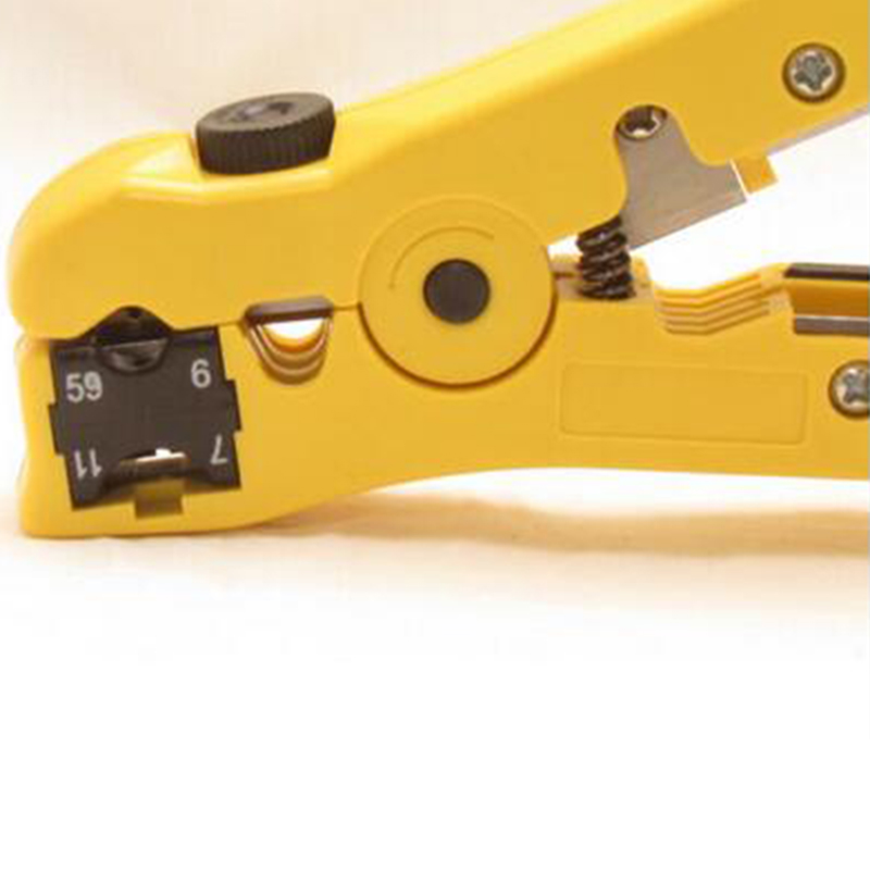 Tool Cable Stripper Network Coaxial 8P6P4P Crimpers Adjustable Equipment