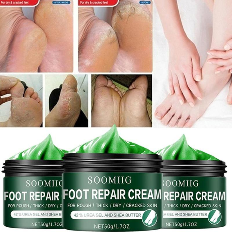 SOFTENS THICK, CRACKED SKIN, RELIEVES DRY, ITCHY SKIN