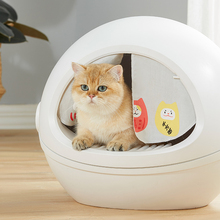 Fully Enclosed Litter Box Oversized Deodorant Anti-Splash Cat Toilet