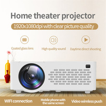 LED Projector Mobile-Phone Wireless-Screen Christmas-Gift Wifi Home Theater for Mirroring-Display