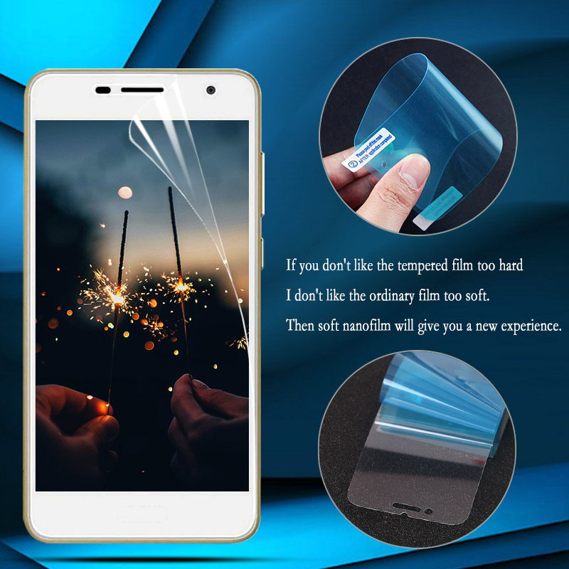 Nano Explosion-proof Film For Huawei Honor 10 Lite 9X 8X 8A Screen Protector for Huawei Y9 Y7 2019 Y6 Prime 2018 (Not Glass)