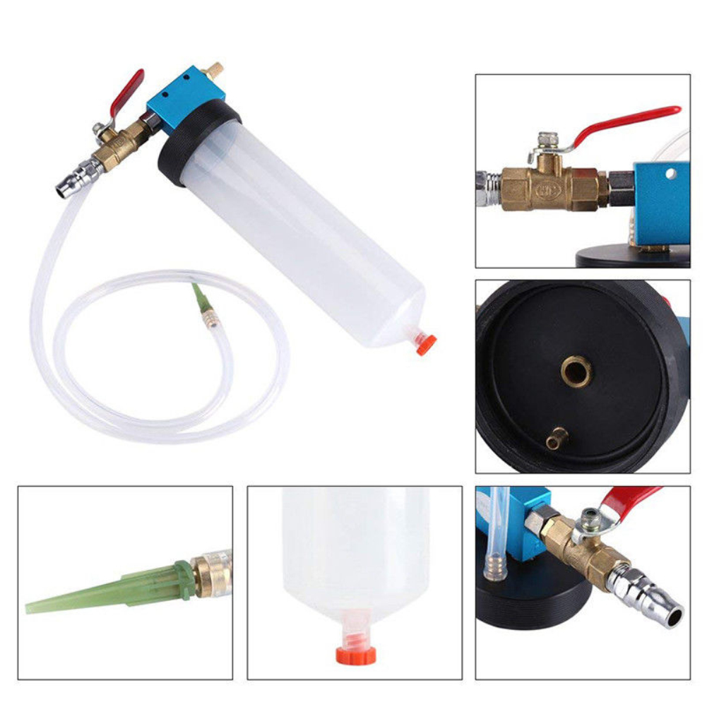 Hand-Tool Automotive-Pump Oil-Bleeder Car-Brake-Fluid Oil-Change-Replacement-Tool Empty-Drain-Kit title=