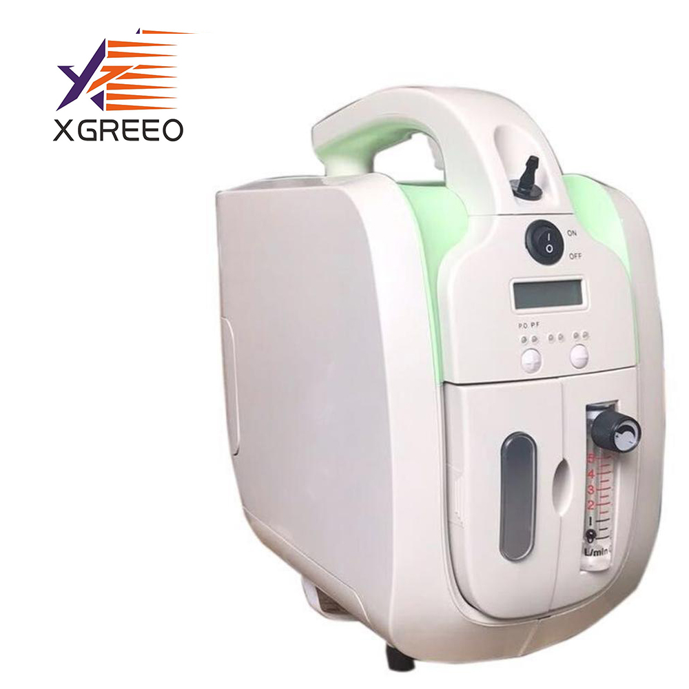 XGREEO Oxygen generator concentrator 5 liter home/medical use portable electric oxygen title=