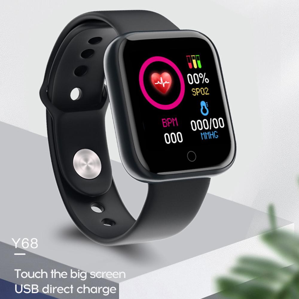 Mouse - Smart Watch Waterproof Smartwatch For Android IOS Smart Watch Kids Men Women Heart Rate Monitor Blood Pressure Watch