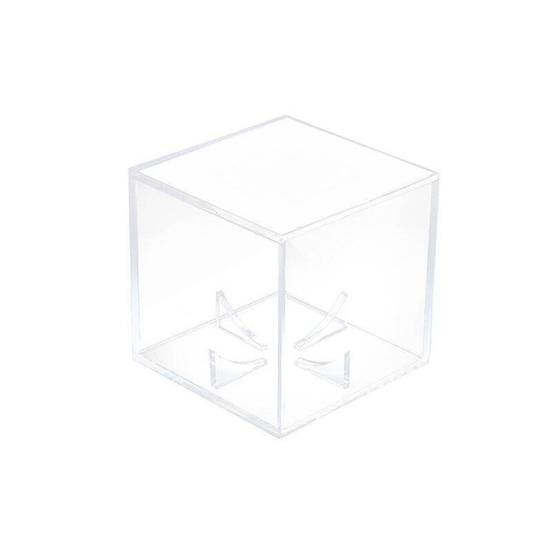 Quality Acrylic 9 Inch Baseball Box Display Golf Tennis Ball Transparent Case For Souvenir Storage Box Holder Uv Protection Dust