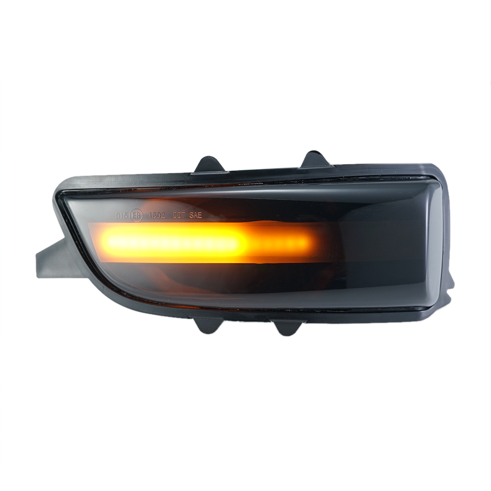Luci dinamiche di indicatore di direzione laterale dello specchio della lampada di ricambio per V-olvo S80 2007-2013