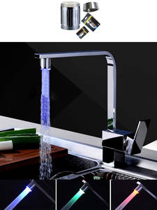 Faucet Light Tap-Nozzle Bathroom-Accessories Temperature Blinking Water-Saving Zhangji