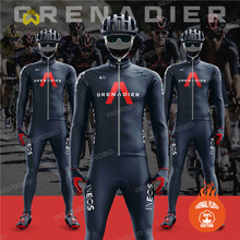 Cycling Clothing Suit Jersey-Set Jacket Race-Uniform Bike Long-Sleeve Grenadier Winter