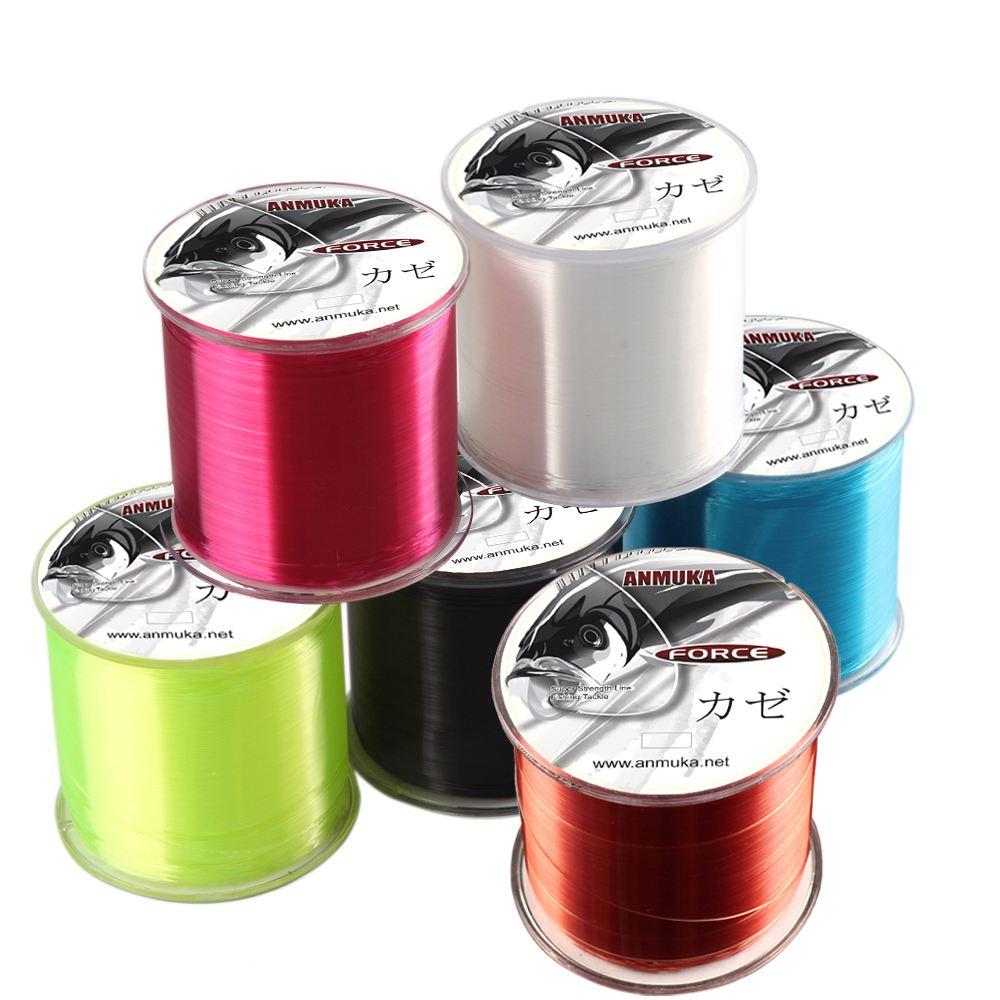 Fishing-Line Spool Thread Monofilament Rock Nylon Japanese Super-Pull Durable 500M Sea title=