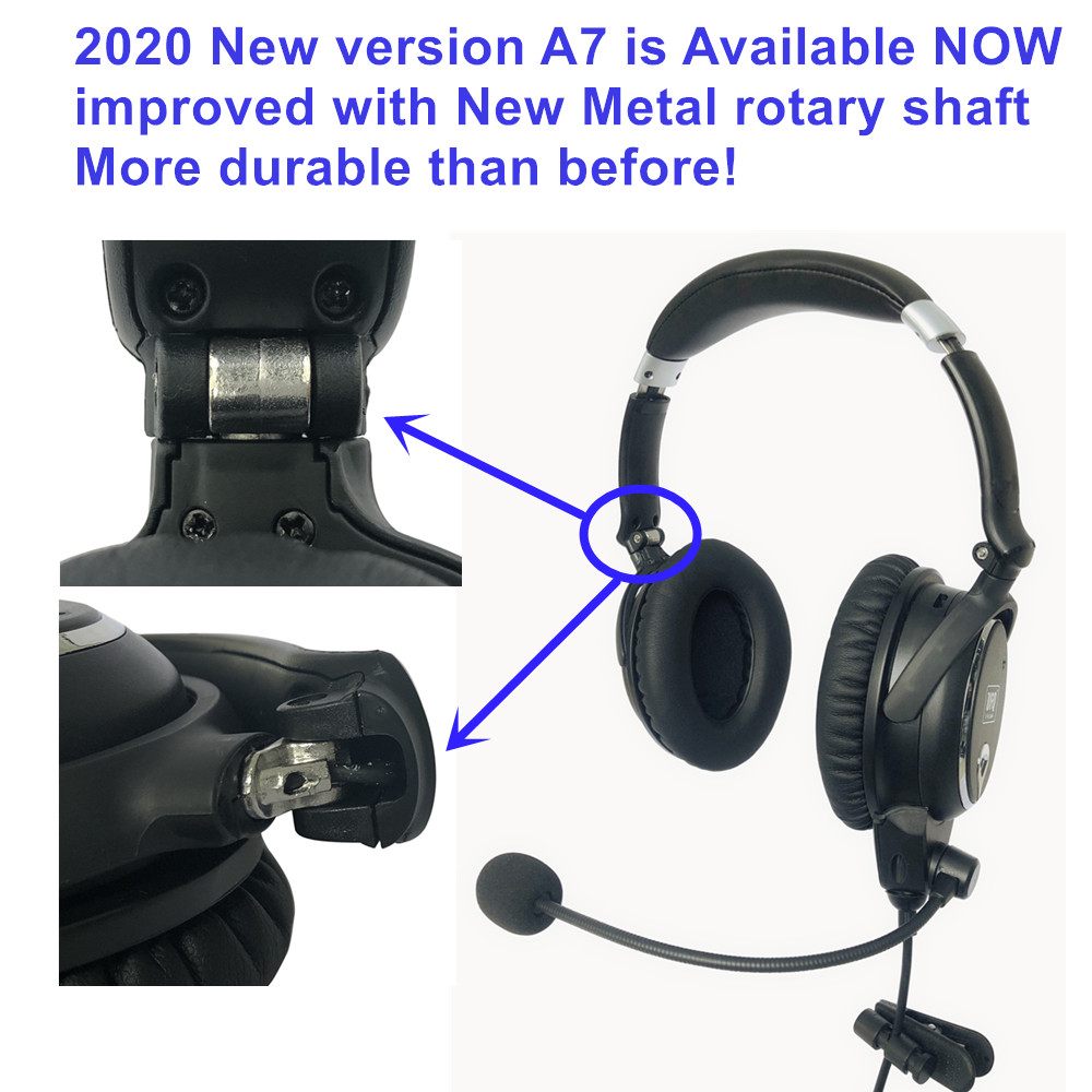 REPLACEMENT FOR BOSE A20 /& X DYNAMIC WINDSCREEN MIC// MIKE MUFF Pilot Headset