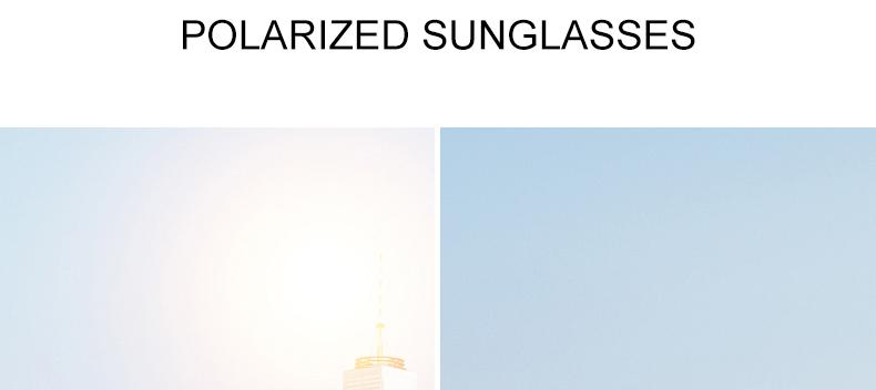 Women Sunglasses Frame Glasses Polariod Lens UV400 Polarized Sunglasses Women Fashion Round Frame Eyewear Glasses (11)