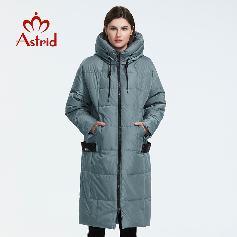 Astrid 2019 Winter new arrival down jacket women loose clothing outerwear quality with a hood fashion style winter coat AR-7038