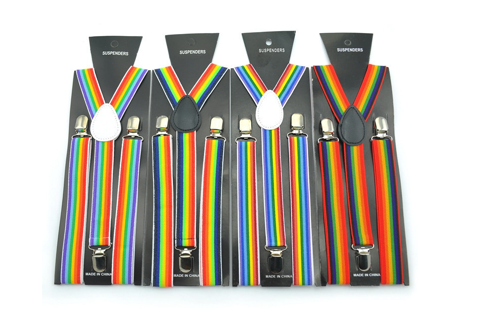 Business Men Shirt Smooth Stays Garters Suspender Braces For Bracers Gentleman