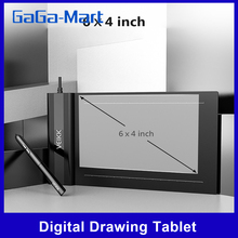 Drawing-Tablet One-Touch-Eraser VEIKK Passive-Pen Digital 6--4inch S640 8192 with Levels-Pressure
