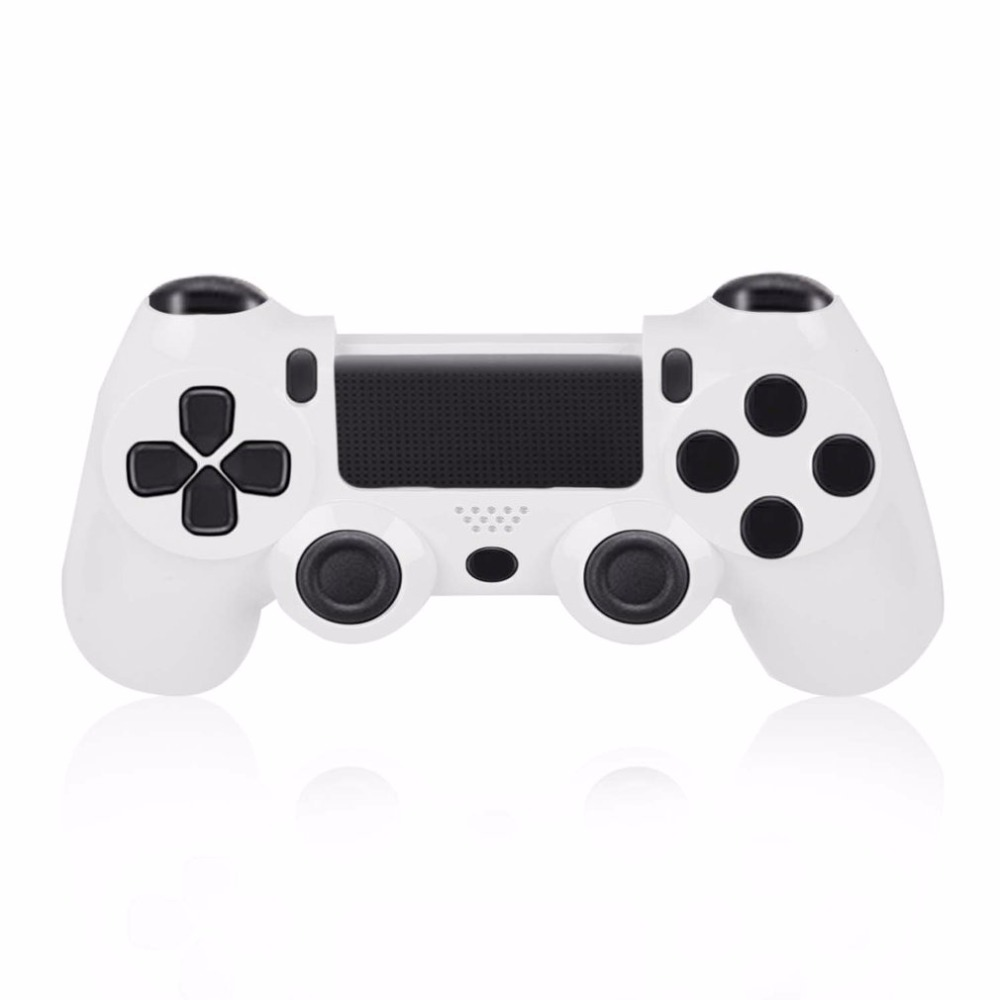 White Wireless Controller Front Housing Shell Case For PlayStation 4 for PS4 for DualShock 4 Wholesale PromotionHot New Arrival