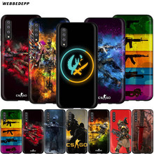 Игровой чехол Webbedepp CS GO Gun для Samsung Galaxy S7 S8 S9 S10 Plus Edge Note 10 8 9 A10 A20 A30 A40 A50 A60 A70(Китай)