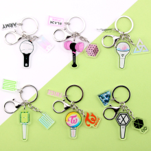 Pendant Keyring Key-Chain-Accessories Gifts TWICE GOT7 Bangtan Boys Cute Kpop Exo