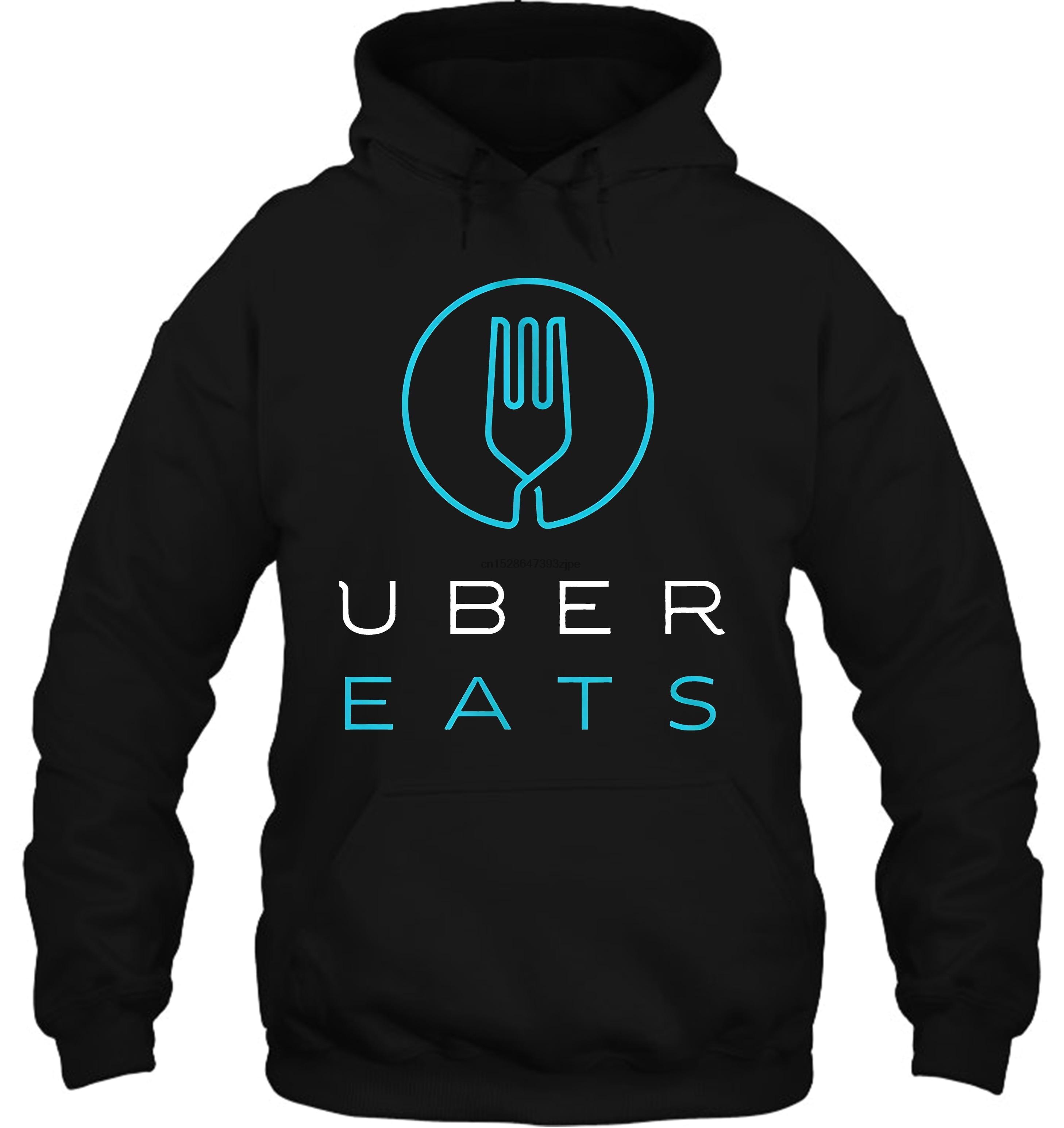 Uber Eats Fashion Womens Sweater Gray XXL