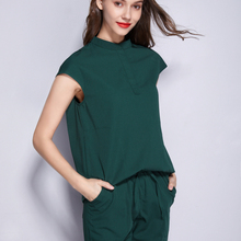 Scrubs-Set Spa-Uniform Working-Clothes Fashion Women's Leisure-Wear Beauty Salon Skin