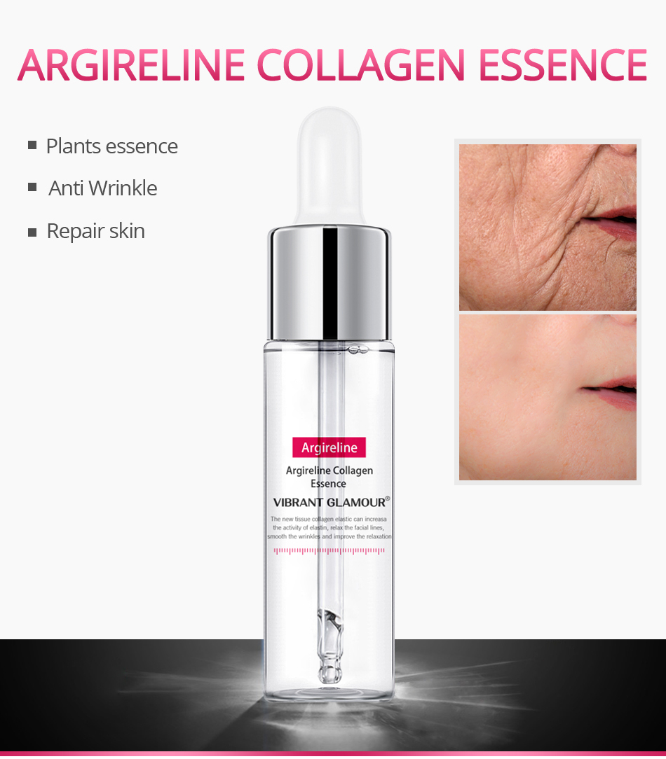 Vibrant Glamour Argireline Collagen Essence Activate Cell Vitality & Restore The Youthful State of Skin Inside Out