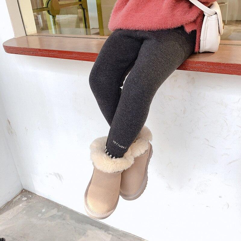 2019 new arrival girls boys legging autumn winter fashion soft kids girls pants 2-7t