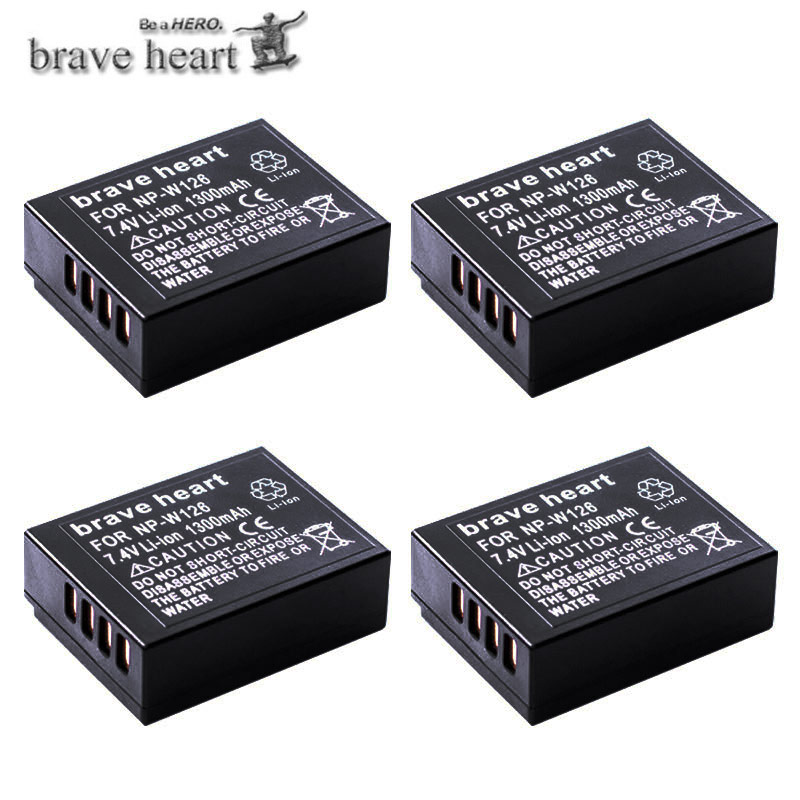 Batería Battery Pack np-w126 para Fuji FinePix hs30 x100f x-a1 x-a3 x-a5 x-e1 x-e3