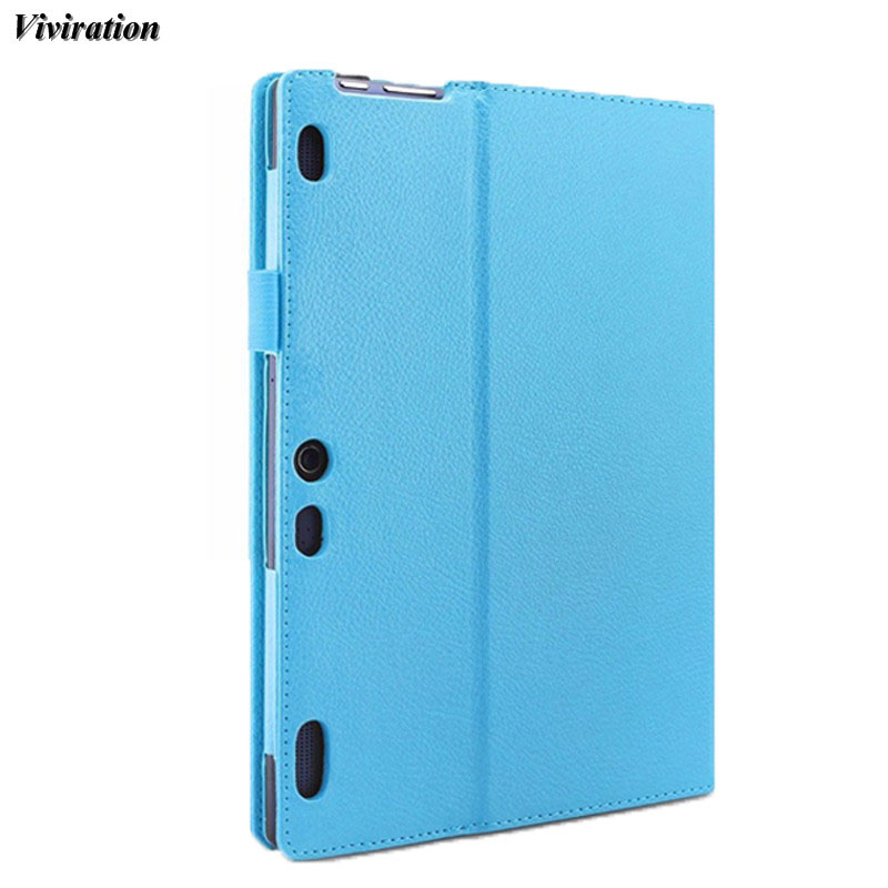Casual PU Shell Cover For Lenovo Idea Tab 2 A10-30 X30F Luxury Magnetic Stand Cover Case Leather Shockproof Tablet PC Shell Skin