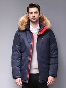 Blackleopardwolf 2019 Мужская теплая зимняя брендовая куртка съемный меховой воротник ветрозащитный пуховик с удобными манжетами BL-1109M