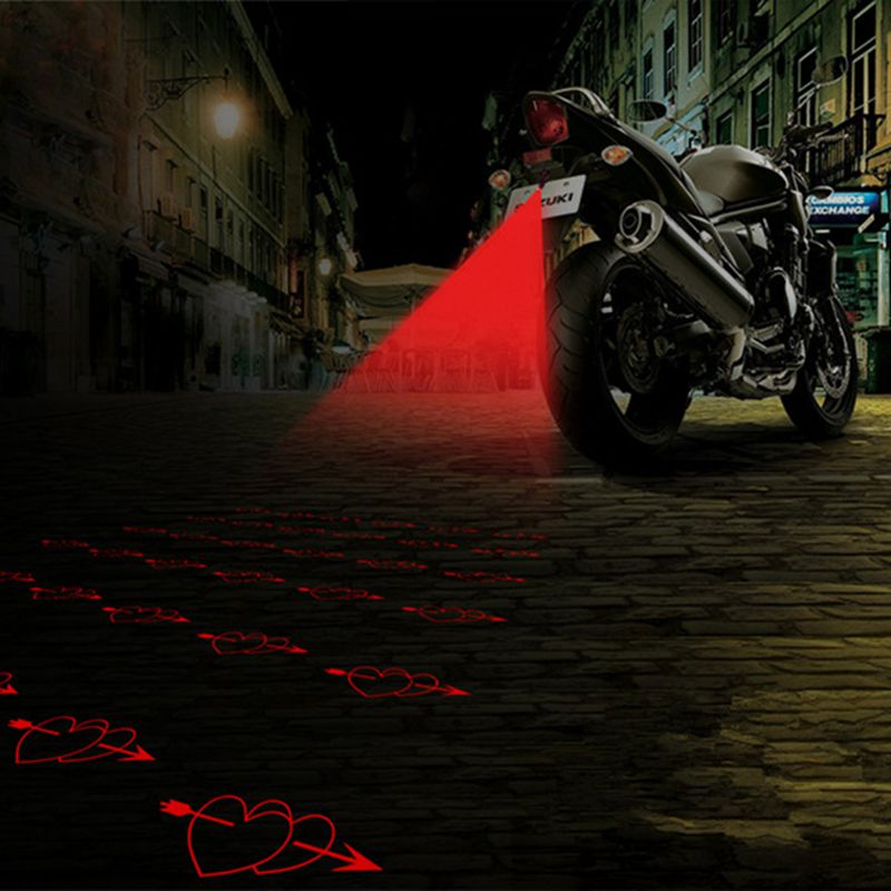 YOSOLO  Car Fog Light Laser Fog Anti-collision Car Motorcycle Decorative Light title=