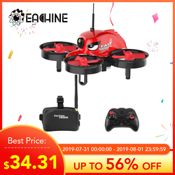 Высокое качество оригинальный Eachine E013 микро мини-Квадрокоптер 5,8 Г 4 0CH 1000TVL Камера VR006 VR-0 06 3 дюймов очки моделей дронов RC