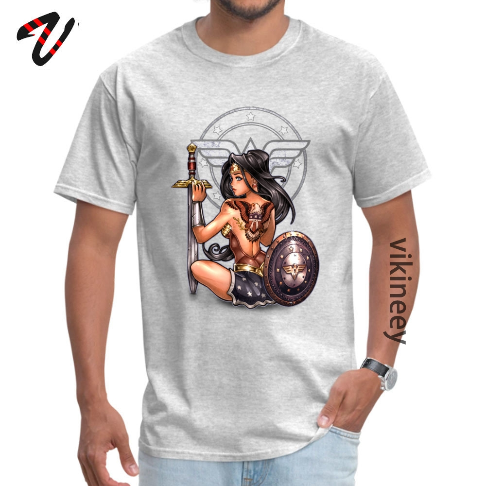 amazon_ Group T Shirt for Men All Cotton Fall Tops Tees Funny Tops & Tees Short Sleeve Funny Round Neck Wholesale amazon_1233 grey
