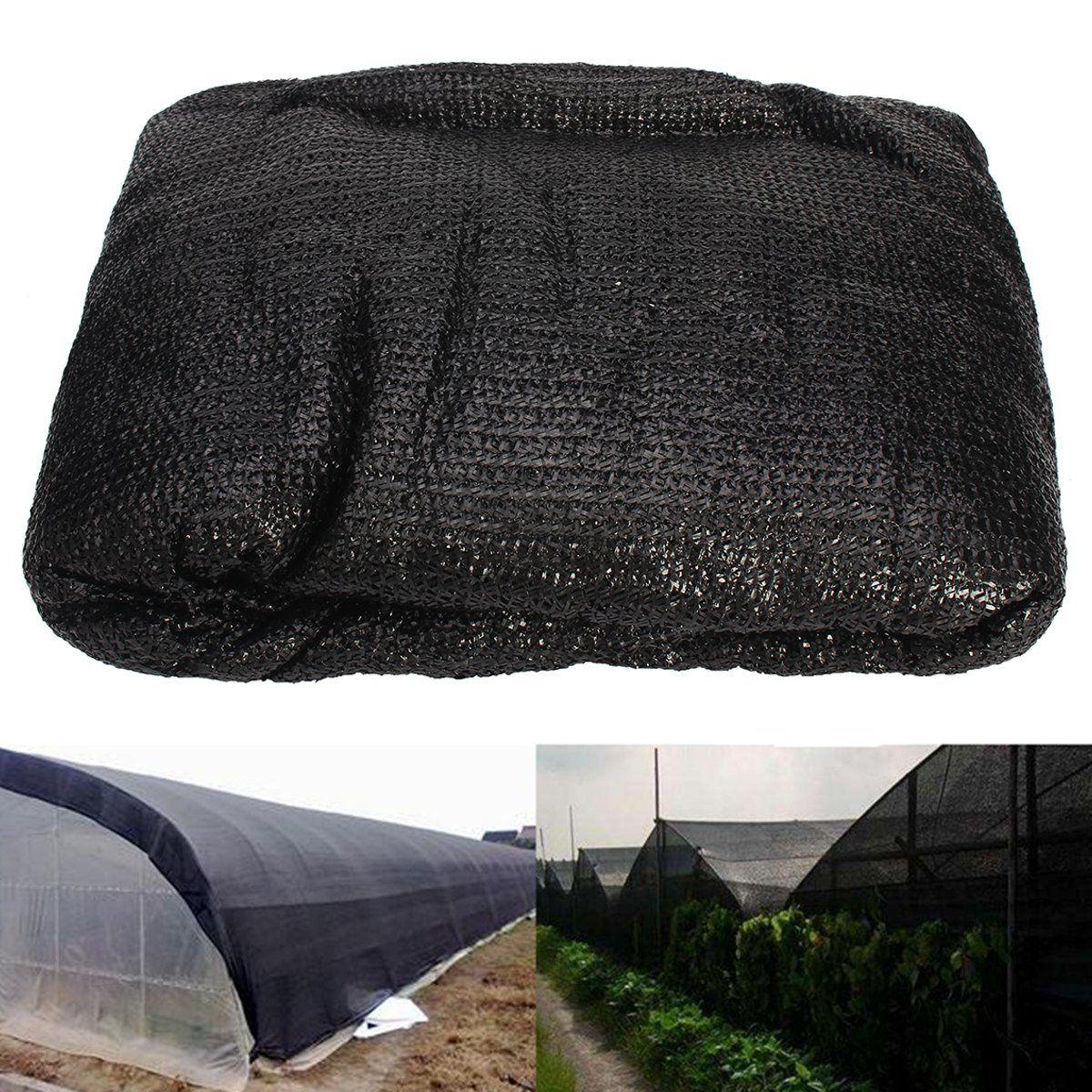 Anti-UV Sunshade Net Outdoor Garden Sunscreen Sunblock Shade Net Plant Car Cover