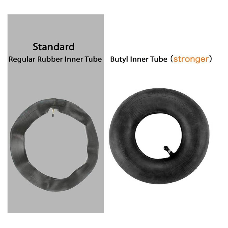 LUOJIA 2.80//2.50-4 Inner Tube with TR-87 Bent Valve Stem Fit for 4 Rim Wheels Scooters//Lawn Mowers//Hand Trucks and Wheelbarrows