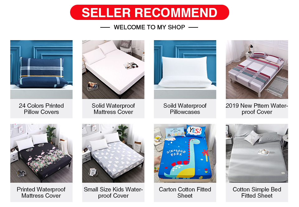 Mattress Protector Wet Bed Sheet Cover Water Proof Quilted Deep Small Double
