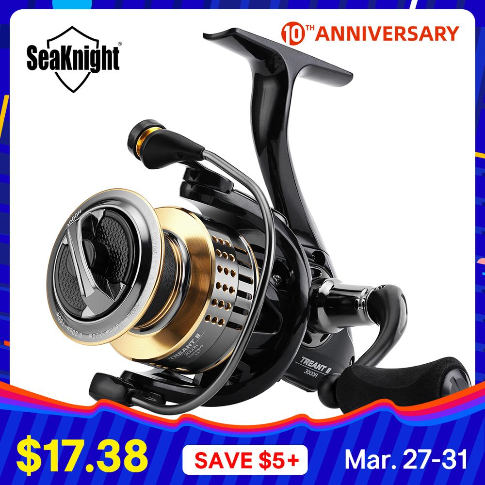 Seaknight Fishing-Reel Carbon-Fiber Power-Carp Drag 1000H-6000H Treant-Ii 15kg/33lbs title=