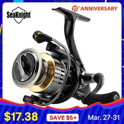 SeaKnight TREANT II 5,0: 1 6,2: 1 angeln Reel 1000 H-6000 H Spinning Reel 15 KG/33LBs Carbon Drag Power Karpfen Angeln tackles