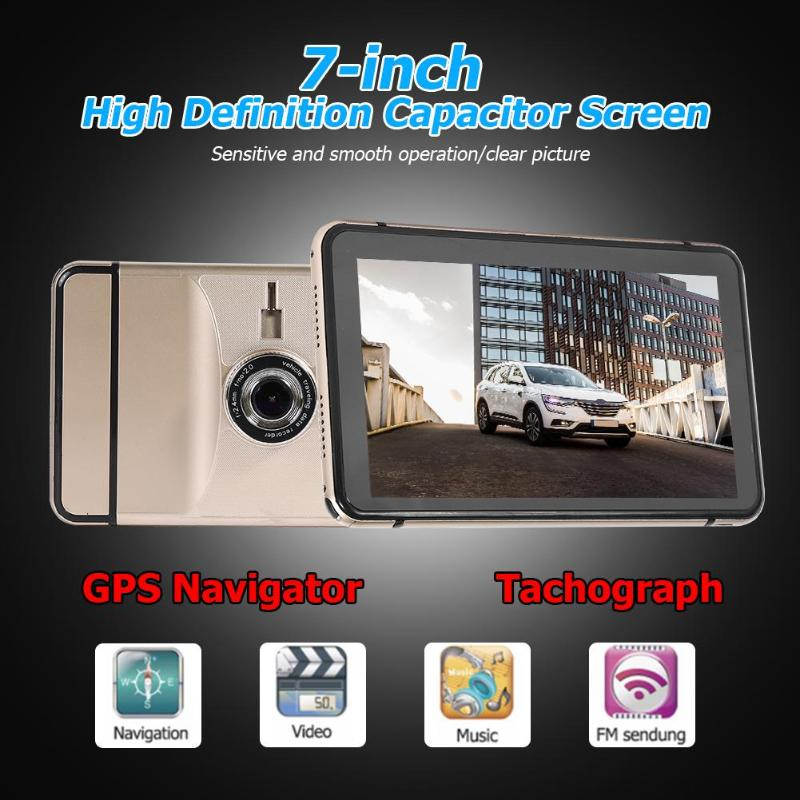 Camera Navigators Truck Gps Wifi Bluetooth 7inch DVR Automobile Sat Nav New AV-IN Map title=