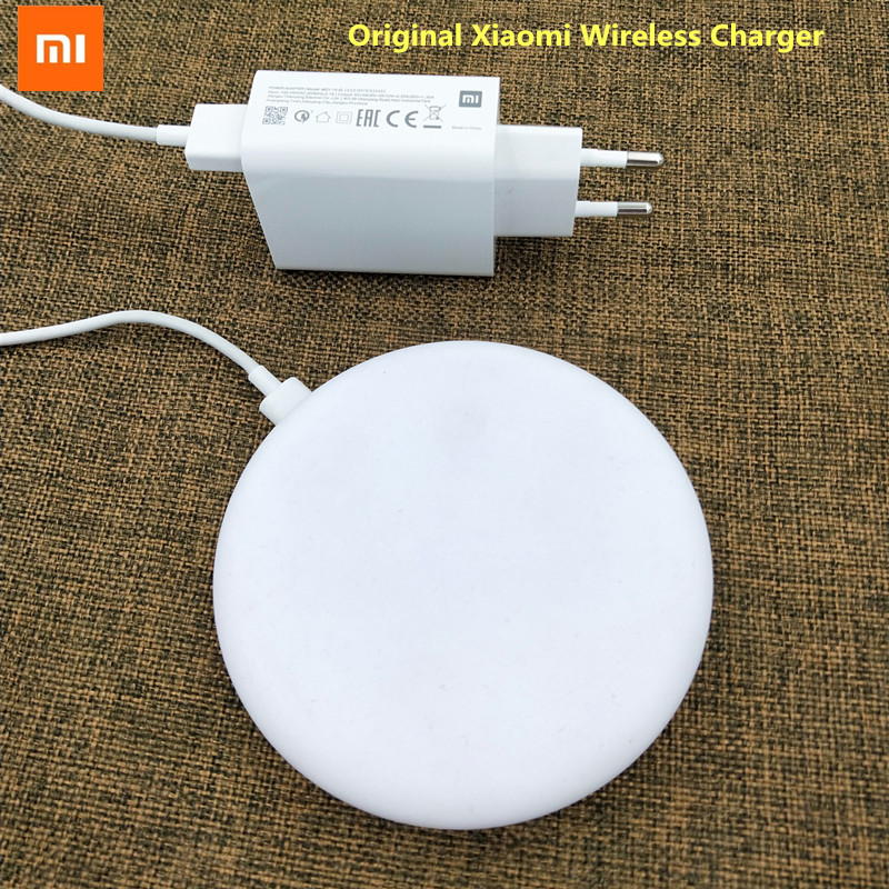 Xiaomi Wireless-Charger Qi-Epp10w-Adapter iPhone 8 20W Original Apply-To 15V MAX Pro title=