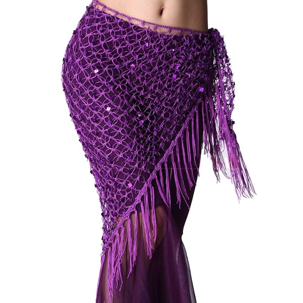 Новый стиль Костюмы для танца живота с блестками для танца живота хип-шарф для женщин ремни для танца живота