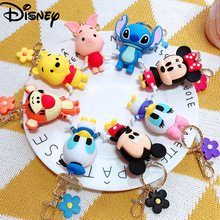 Bag Keychains Key-Accessories Monster Mickey Women Cartoon Cute Lovely Disney New Baby-Boy-Girl