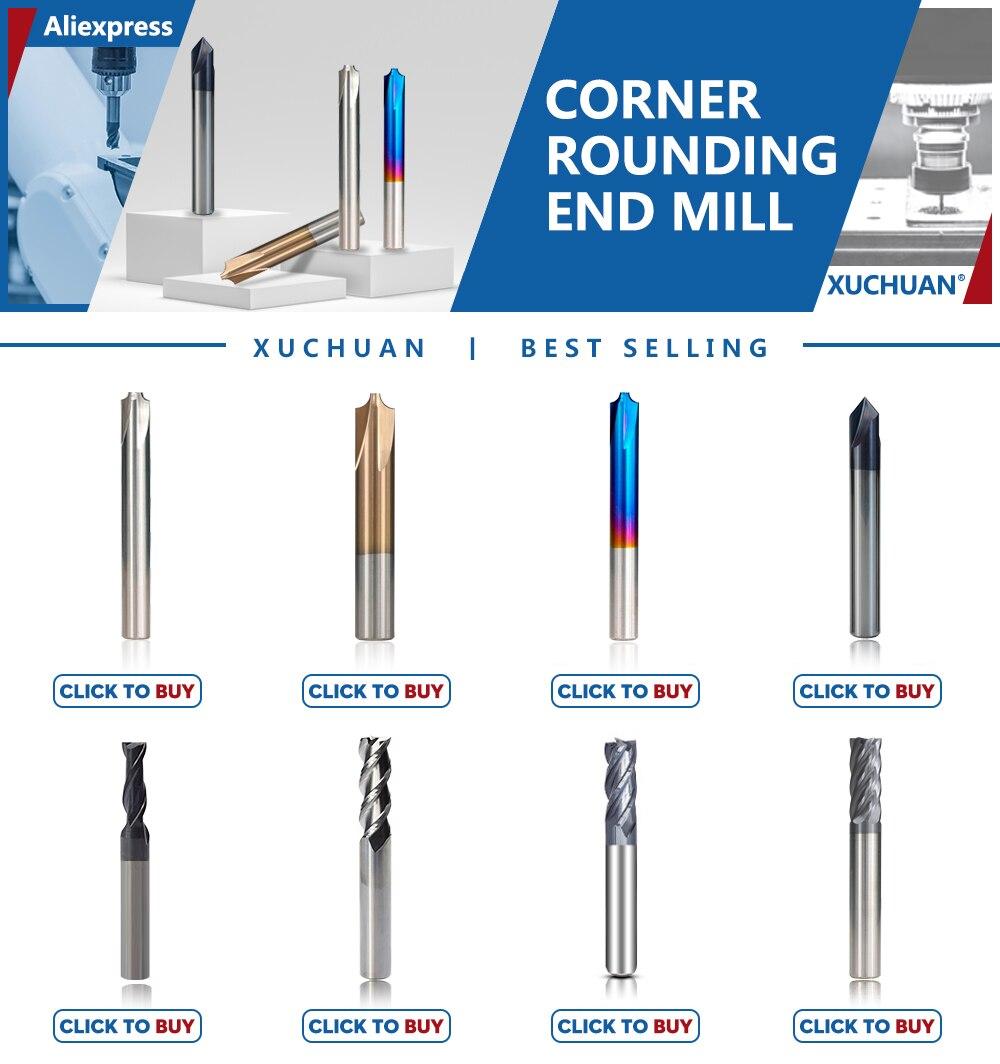 60 Degree 3 Flutes Chamfer Mill Cutter Solid Carbide 4mm Shank Cutting CNC Bit