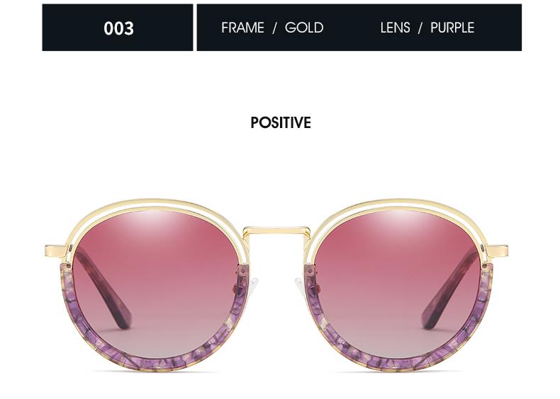 Sunglasses Women Vintage Round Sun Glasses Polarized Lens UV400 Anti Reflective Summer Polarized Women Snnglasses (28)