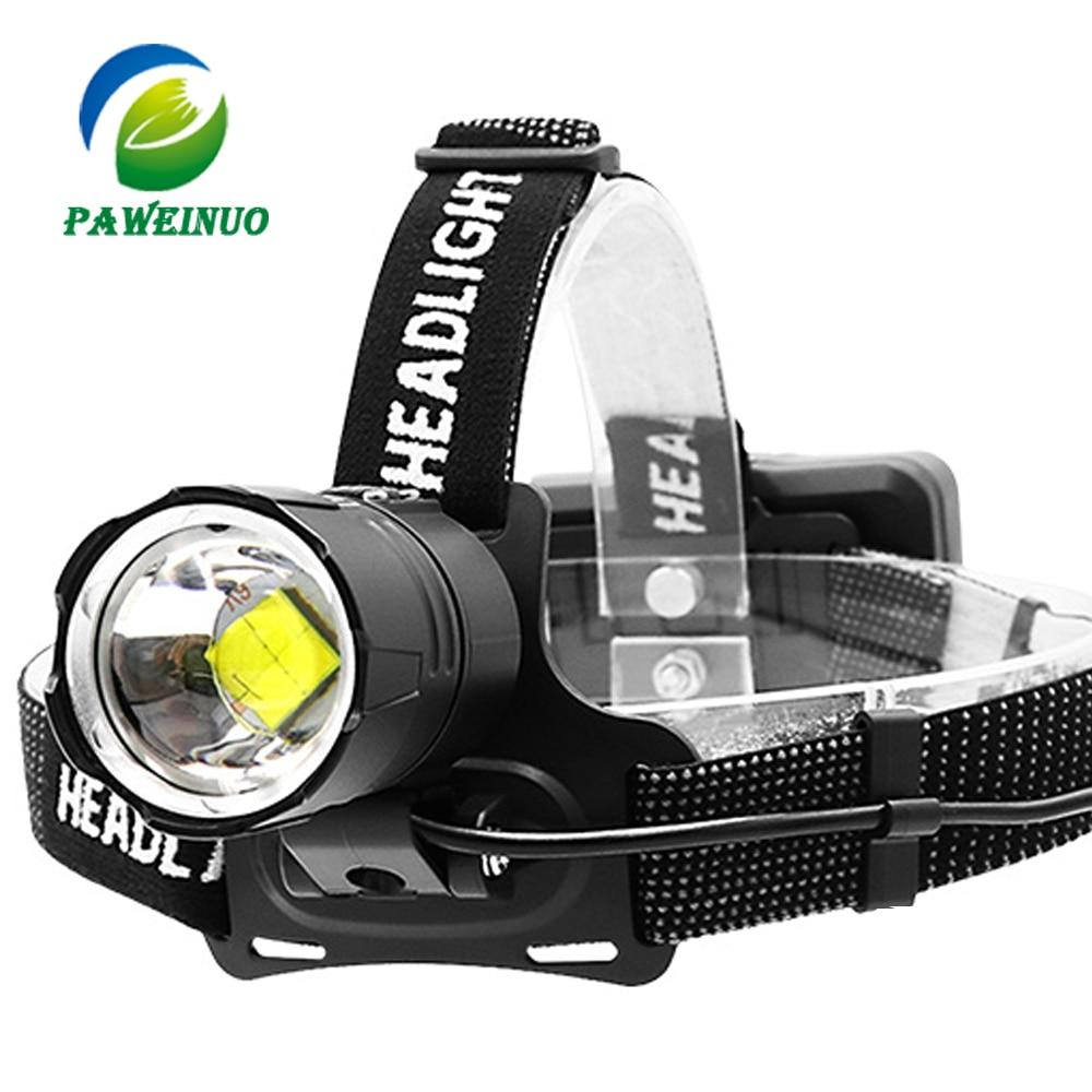 Super Hell 90000LM Stirnlampe LED Scheinwerfer Kopflampe Fackel Taschenlampe