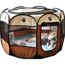 Perros-House Bed-Tent Playpen Puppy Dog-Cage Dogs Foldable Small Outdoor Large Cats